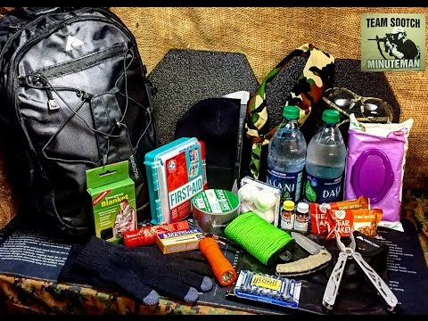 DIY Cheap Walmart Get Home Bag For Survival