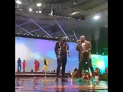 Falz and ycee giving them something light at falzesperience 2017