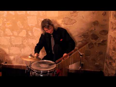 Funny Drummer  performance ! Solo on drums part 1 .You must watch this now !
