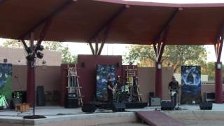 Jir Project Band - LIVE @ NM State Fair Indian VIllage 2016 Clip 4