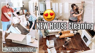 😍 NEW HOUSE CLEAN WITH ME 2021 + NEW FURNITURE :: ARIZONA HOME SPEED CLEANING MOTIVATION