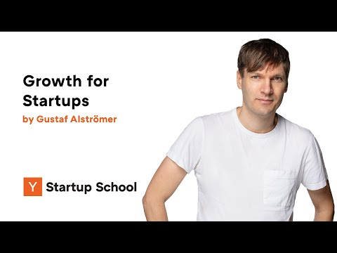 Gustaf Alströmer - Growth for Startups