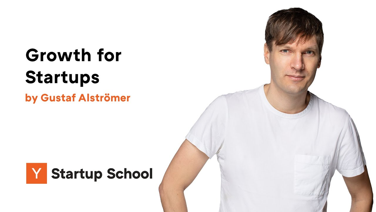 Gustaf Alströmer - Growth for Startups