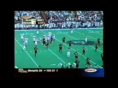 2002 #14 Alabama vs.  Hawaii Highlights