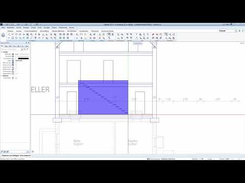 Download Schnitt Treppe Konstruktion
