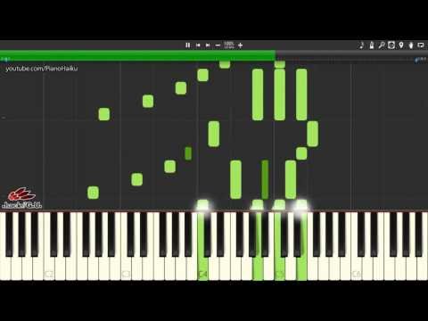 .hack//G.U. OST ~ Swaying Emotions (Synthesia + MIDI file download)