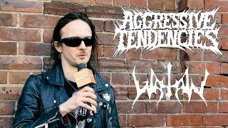 Erik Danielsson on Watain's 'Trident Wolf Eclipse' vs. 'Rabid Death's Curse' | Aggressive Tendencies