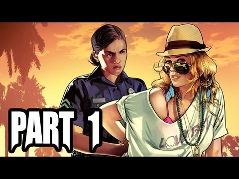 Grand Theft Auto 5 Gameplay Walkthrough - Part 1 - Intro: GAME OF THE YEAR?! (GTA 5 Gameplay HD)