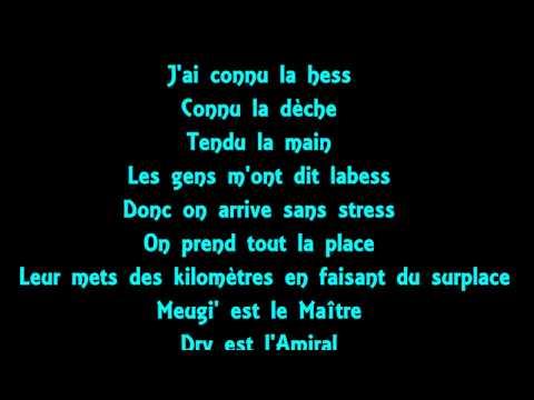 Maître Gims feat. Dry - One shot lyrics