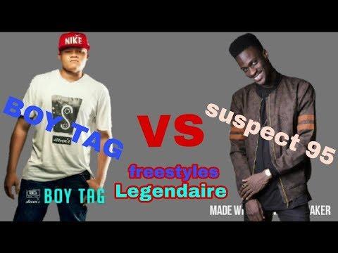 SUSPECT 95 VS BOY TAG - ►Freestyle Legendaire #1