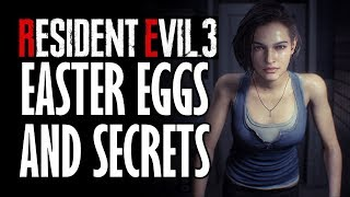 Resident Evil 3 All Easter Eggs And References