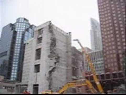 Toronto Bay Adelaide Centre Deconstruction