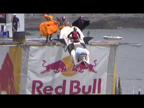 Red Bull Flugtag 2014 - All flights resumed