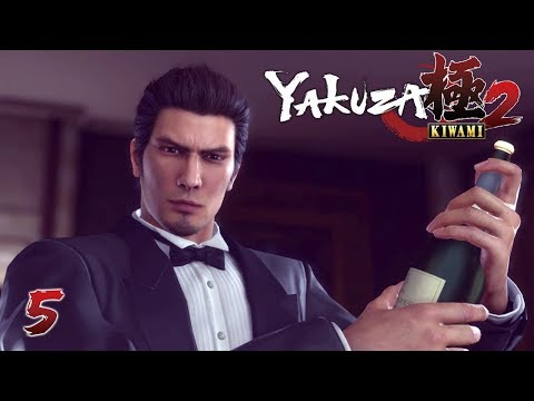 MAKE IT RAIN! - Let's Play - Yakuza Kiwami 2 - 5 - Walkthrough Playthrough