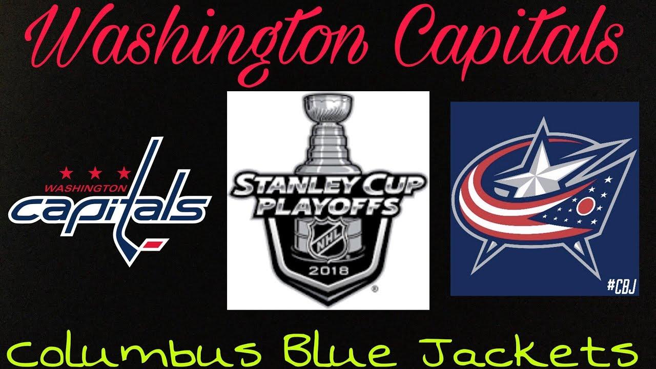 b063cf1004b 2018 Stanley Cup Playoffs - Columbus Blue Jackets vs Washington Capitals  (R1) Preview Prediction