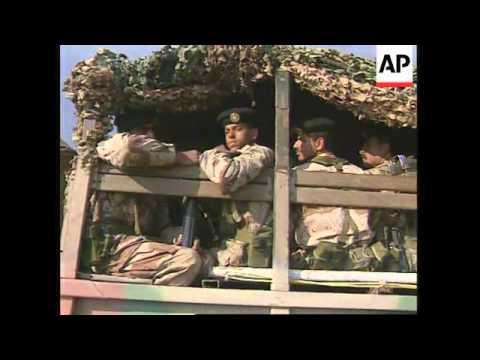 JORDAN: ISRAEL MAKES HISTORIC WITHDRAWS FROM JORDANIAN TERRITORY