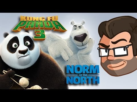 Norm of the North & Kung fu Panda 3 REVIEW!