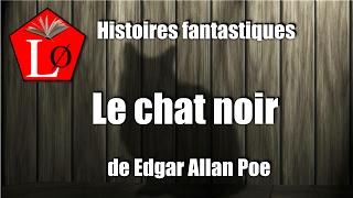 Le chat noir de Edgar Allan Poe, Histoire fantastique. #livreaudio