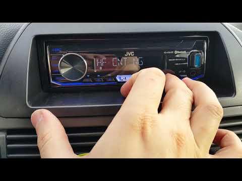 Bluetooth Car Audio JVC KD-X351BT - Test / Menu / Settings
