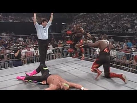 Harlem Heat vs. Sting & Lex Luger - WCW Tag Team Championship Match: WCW Monday Nitro, June 24, 1996