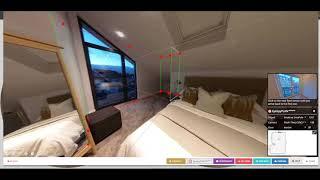 كيفية إنشاء نماذج 3D على شكل L أو غرف كبيرة