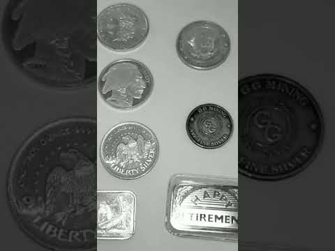Silver bullion investment: Different Types Of Silver Rounds/Bars