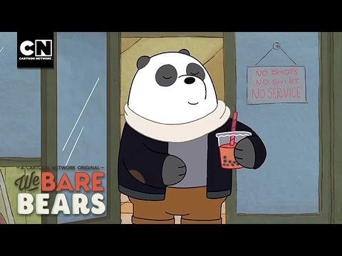 No Shirts, No Service | We Bare Bears | Cartoon Network