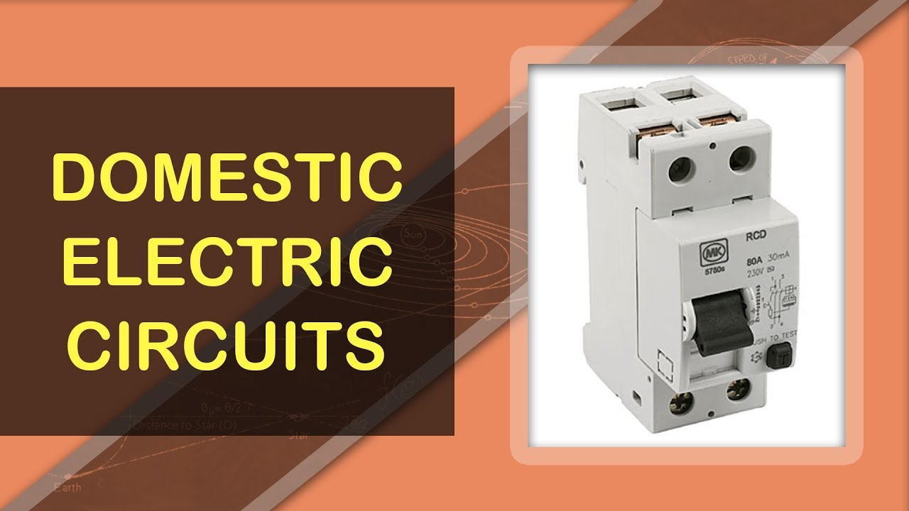 What are Domestic Electric Circuits | Electromagnetism Fundamentals |  Physics Concepts & Terminology