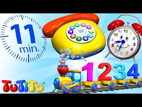 TuTiTu Specials   Numbers   Learning Numbers for Toddlers   Toys and Songs for Children