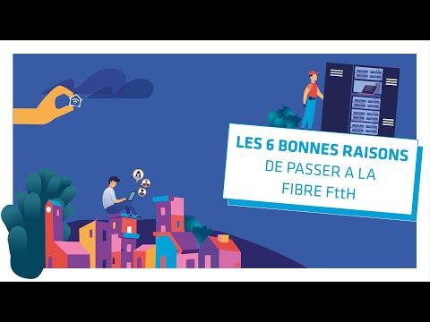 Episode 11 : les 6 bonnes raisons de passer à la fibre FttH
