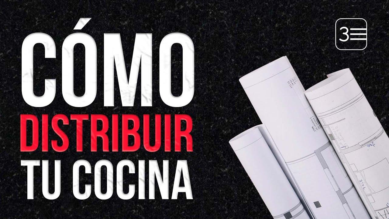 C mo distribuir la cocina opciones de disposici n de for Distribucion de muebles de cocina