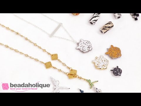 Show & Tell: Swarovski Innovations Spring/Summer 2017 Pave Pendants and Beads