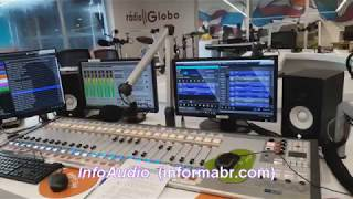 ESTÚDIO DA RÁDIO GLOBO RIO DE JANEIRO  ( InfoAudio)