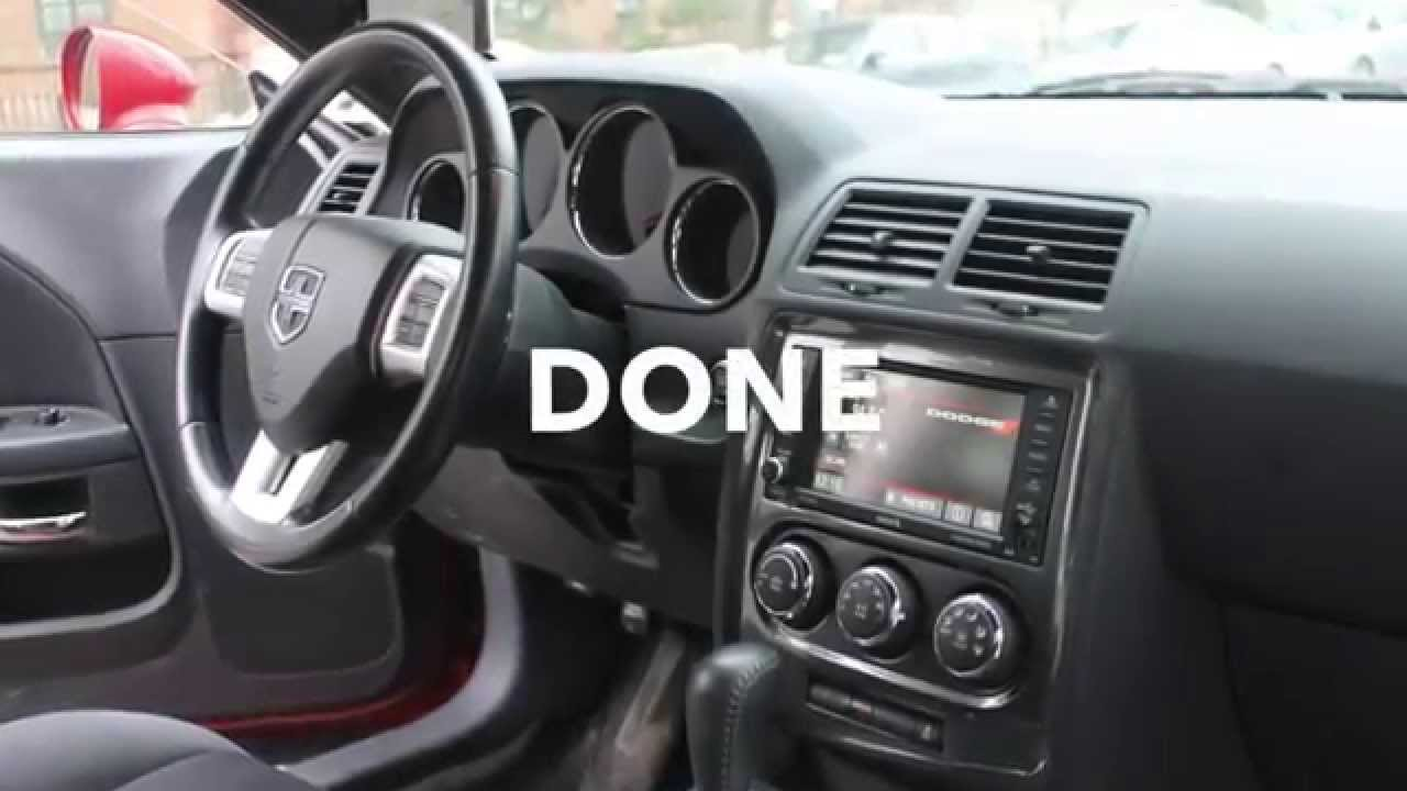 Dodge Challenger How To Replace Stereo Youtube