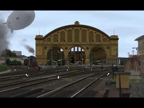 Deutsche Reichsbahn Anhalter Bahnhof Berlin, Betrieb vorm Südportal (View from the Southern Portal)