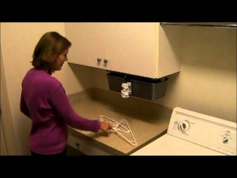 Clothes Hanger Storage Device - YouTube