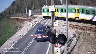 Polskie Ulice #128  Kierowco włącz myślenie , pociąg to nie zabawka