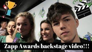 BRUGKLAS BACKSTAGE bij de ZAPP AWARDS!! | Vincent Visser