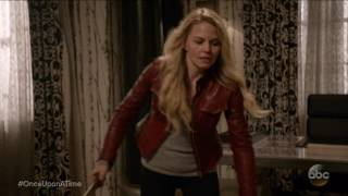 once upon a time 6x21 6x22 emma henry hits gideon w fire extinguisher season 6 episode 21 22