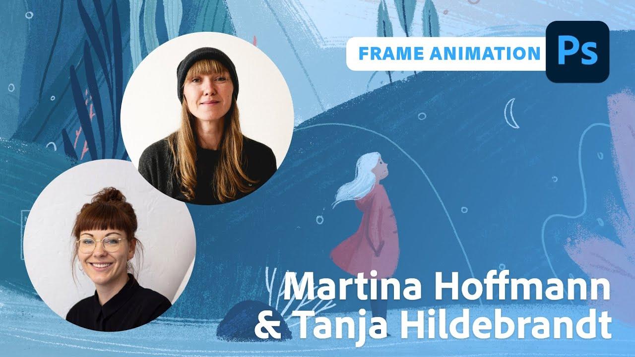 Animation: Von Photoshop nach After Effects mit Martina Hoffmann  Adobe Live