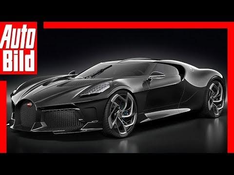 Bugatti La Voiture Noire 2019 Neuvorstellung Youtube