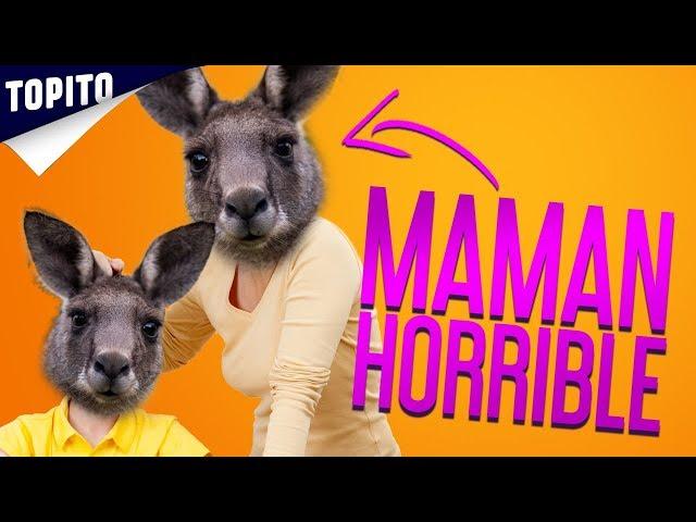 Top 7 des mamans animaux qui sont pires que la tienne