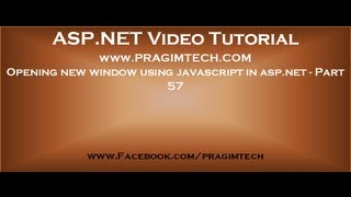 Opening new window using javascript in asp.net   Part 57