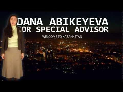 Dana Abikeyeva presentation video for UN Secretary General's Special Advisor on youth