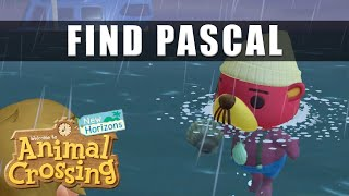Animal Crossing New Horizons where to find Pascal the otter