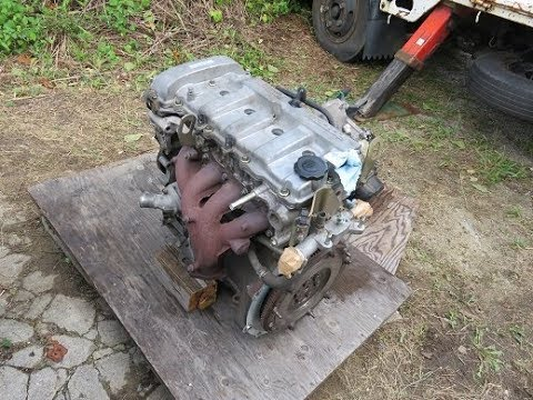 カペラのエンジン交換 ②(MAZDA CAPELLA Engine Replacement②)