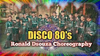 Disco 80's|Bollywood Dance 80's|Dance Cover|Mumbai Dazzlers Jr|Ronald Dsouza