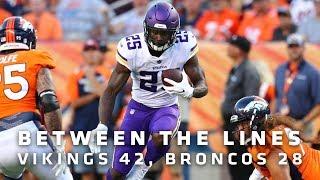 Between The Lines: Minnesota Vikings 42, Denver Broncos 28