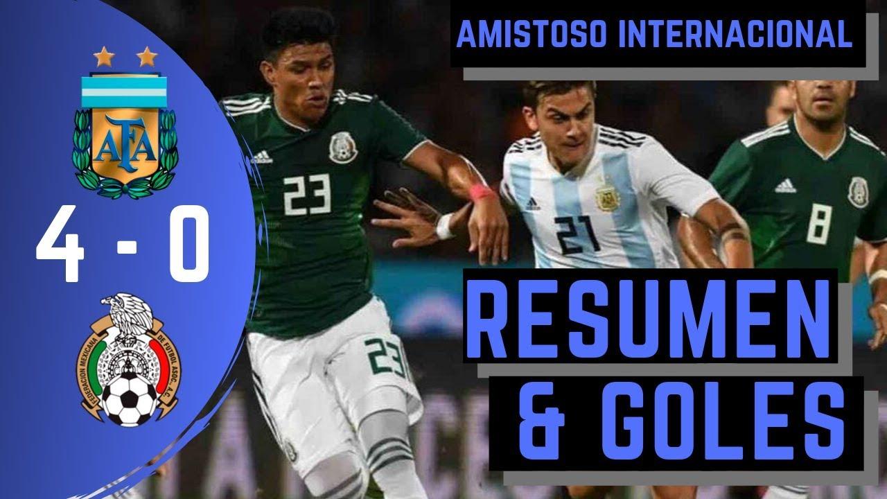 Download RESUMEN EXTENDIDO Y GOLES  | 🇦🇷 ARGENTINA 4 - 0 MEXICO 🇲🇽 | AMISTOSO INTERNACIONAL