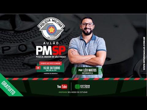 Aulão PMSP | Informática - Prof. Léo Matos